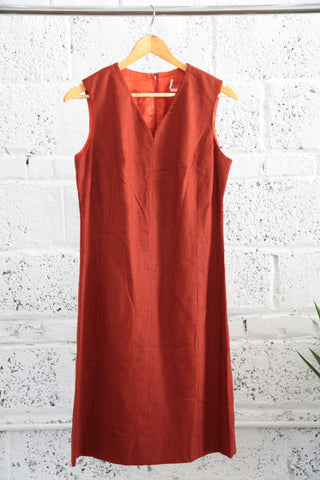1960s V-neck Princess-seam Dress - Terminology