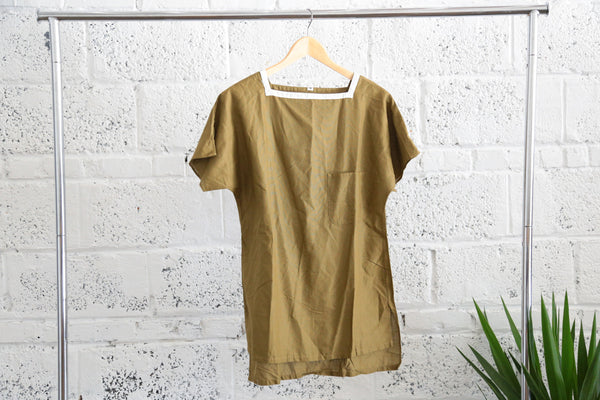 Vintage 1960s Square-Neckline Pocket Top - Terminology