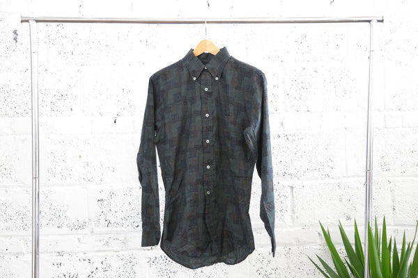 Vintage 1960s Norris Casuals Button Down Shirt - Terminology