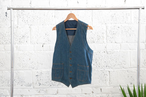 VIntage Lee Denim Vest - Terminology