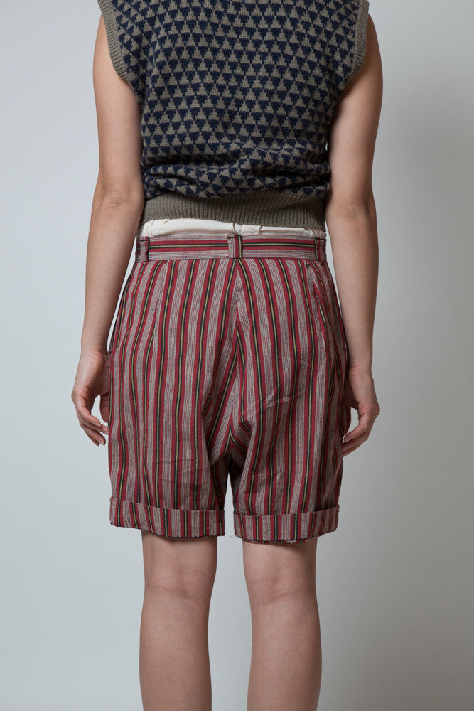 Vintage 1960s Jay Ray Originals Striped Shorts - Terminology