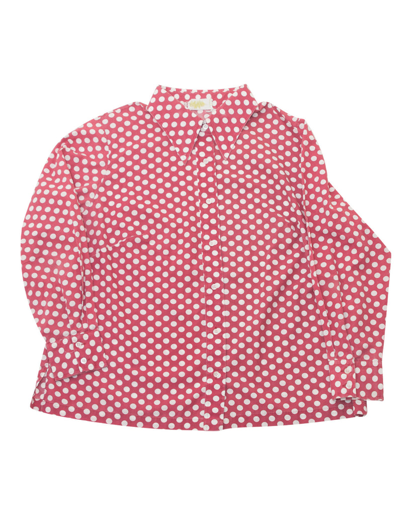Vintage Lane Bryant Polka Dot Shirt - Terminology