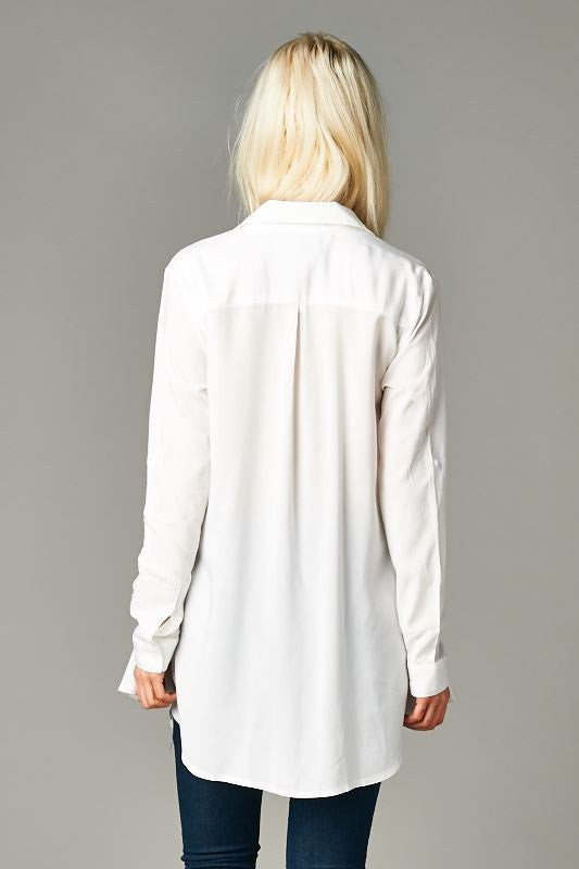 'Pinned Up' Split-Front Blouse - Terminology