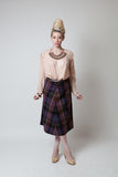 Vintage Plaid A-line Skirt - Terminology