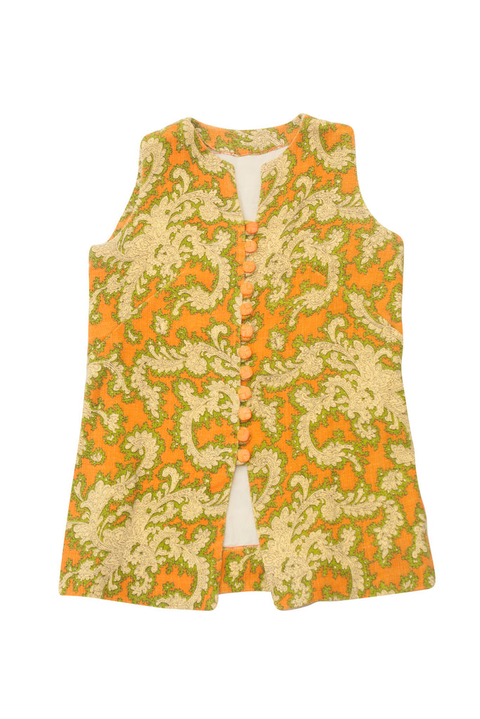 Vintage 1970's Floral Print Tunic - Terminology