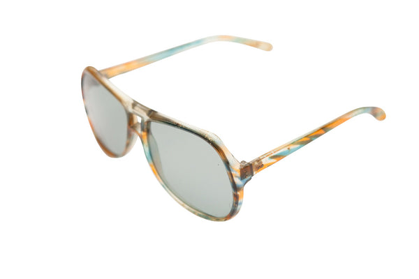 Vintage 1970s Foster Grant Multi-coloured Aviator Sunglasses - Terminology