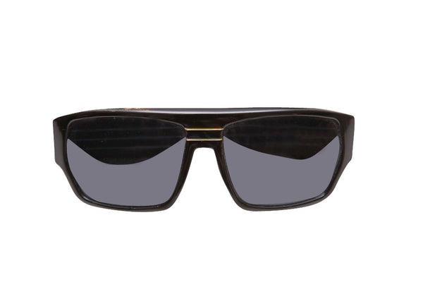 Vintage 1980s Flat top Black Sunglasses - Terminology