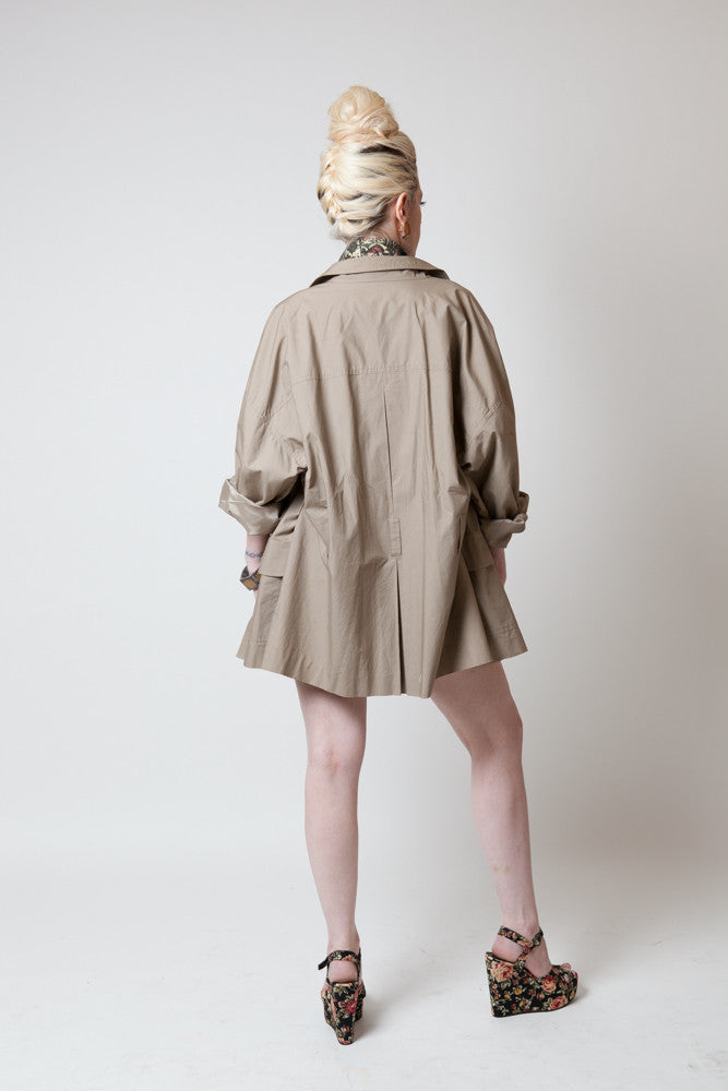 Vintage Khaki Safari Jacket - Terminology