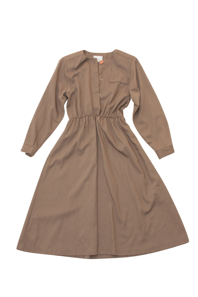 Vintage Via Sant Andrea Olive Dress - Terminology