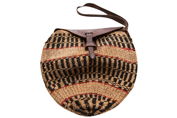 Vintage Woven Ethnic Basket Bag - Terminology