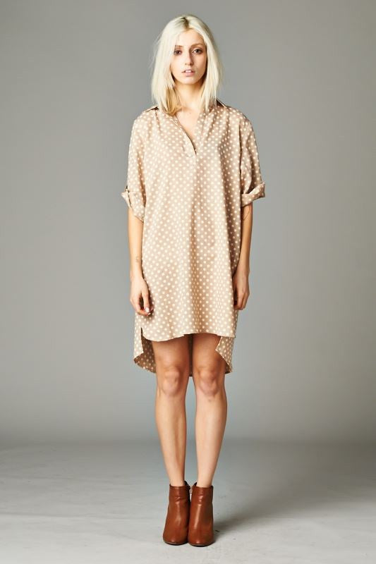 Polka Dot Shirt Dress - Terminology