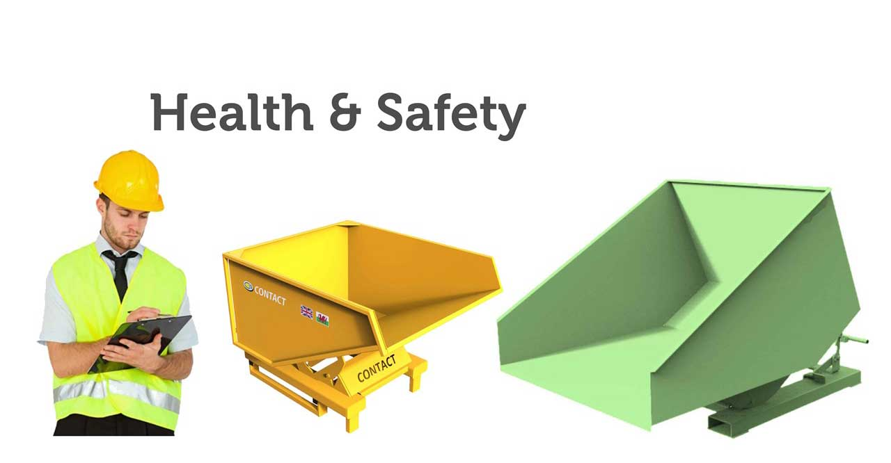 Forklift Tipping Skips Health & Safety