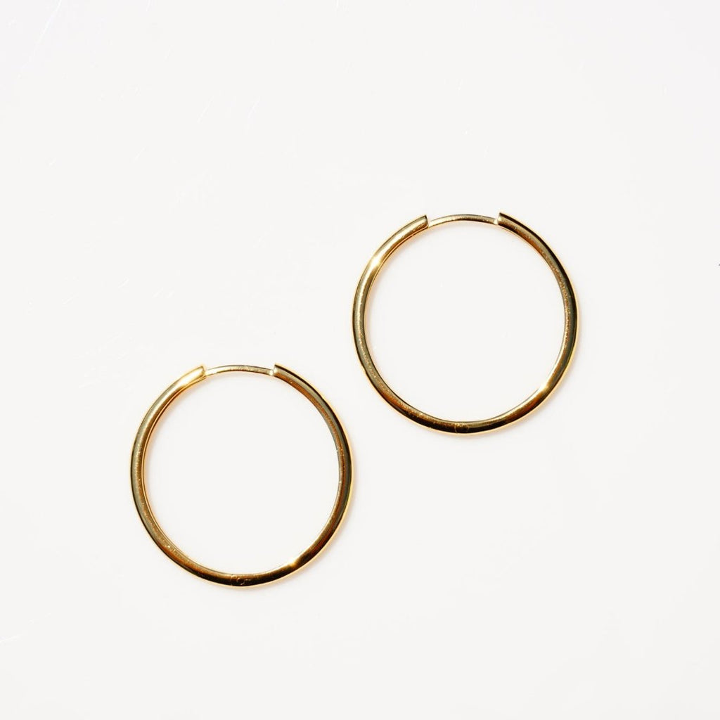 Anna May Hoops - Delicora Jewelry
