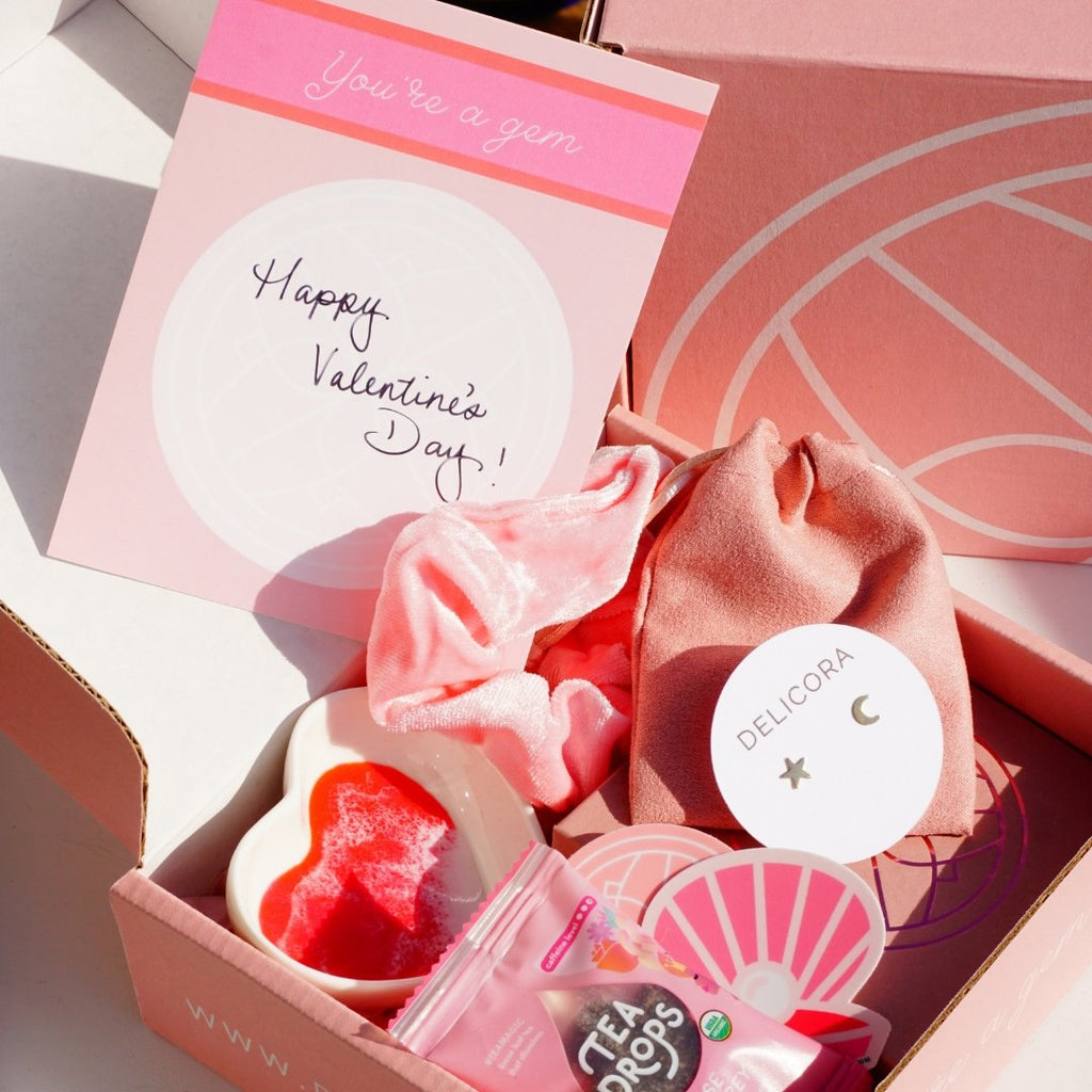 Be My Valentine Care Package (Stud Earrings Included) - Delicora Jewelry