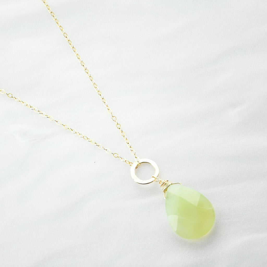 Binh Jade Necklace - Delicora Jewelry