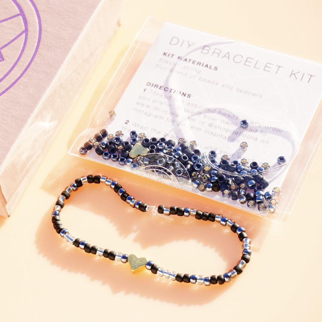 Bold & Gold DIY Bracelet Kit - Delicora Jewelry