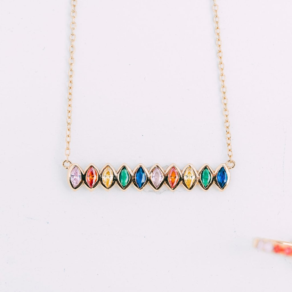 Evelyn Necklace - Delicora Jewelry