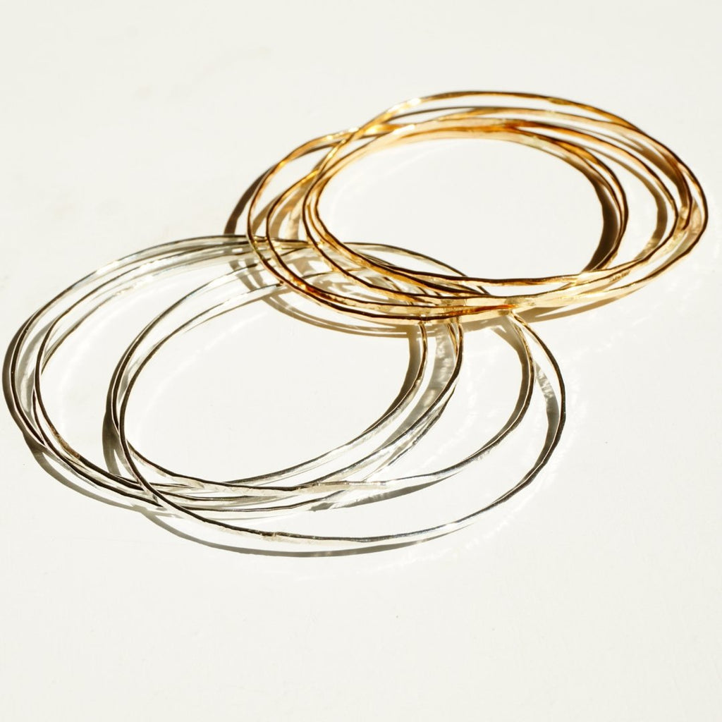 Laguna Bangle - Delicora Jewelry