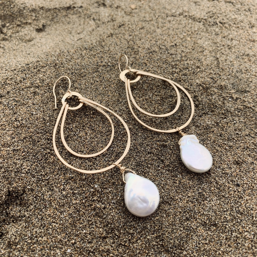 Maui Double Hoops - Delicora Jewelry