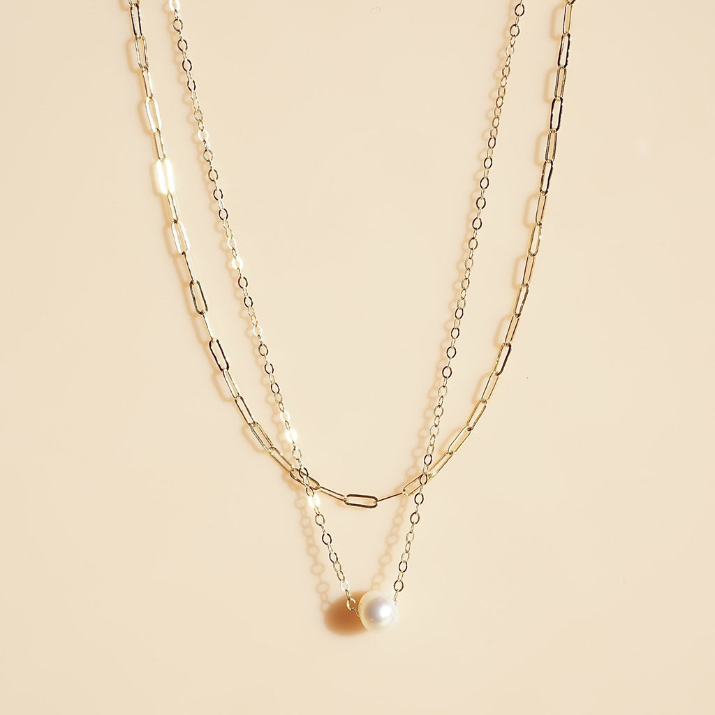 New Brighton Pearl Necklace - Delicora Jewelry