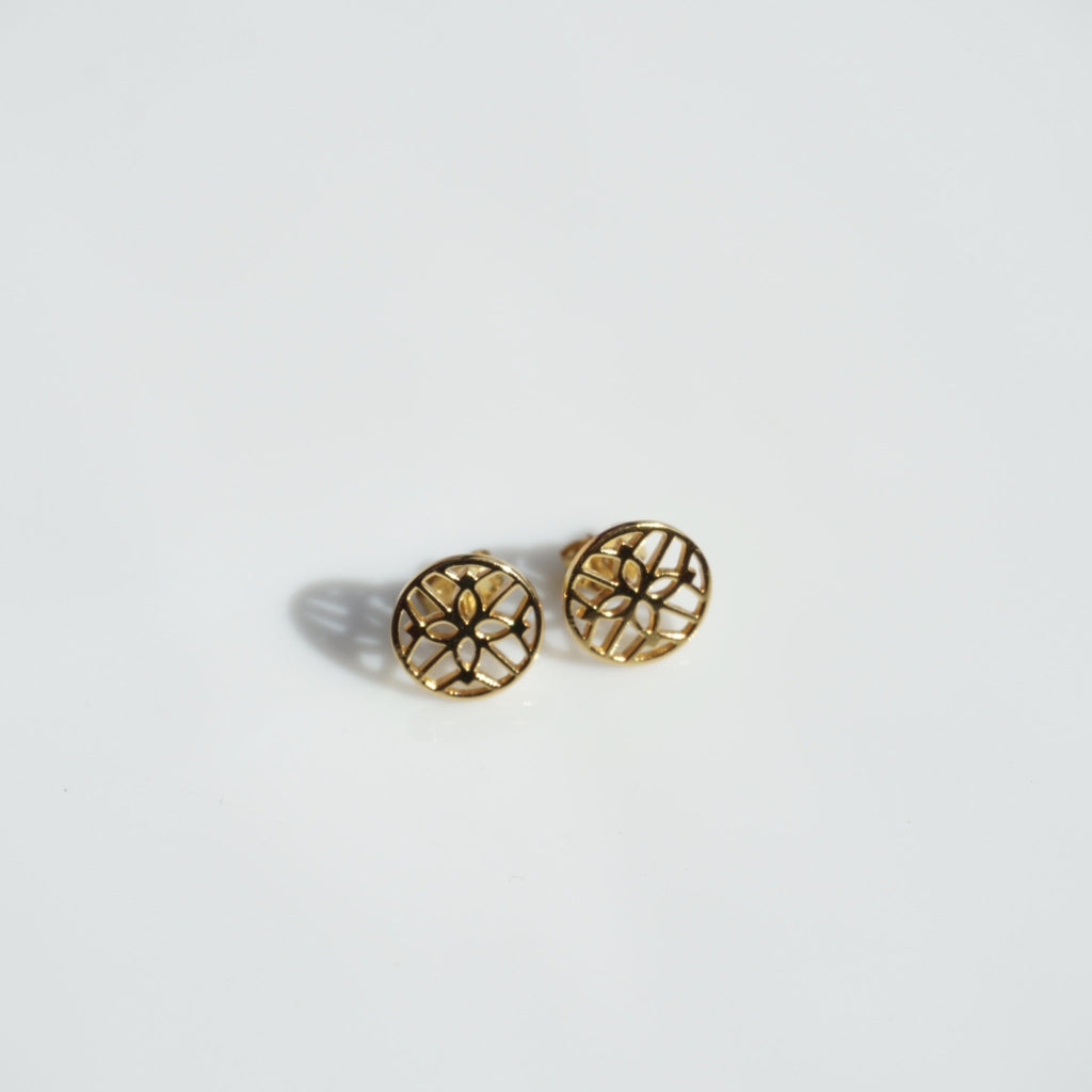 Sandra Stud Earrings - Delicora Jewelry