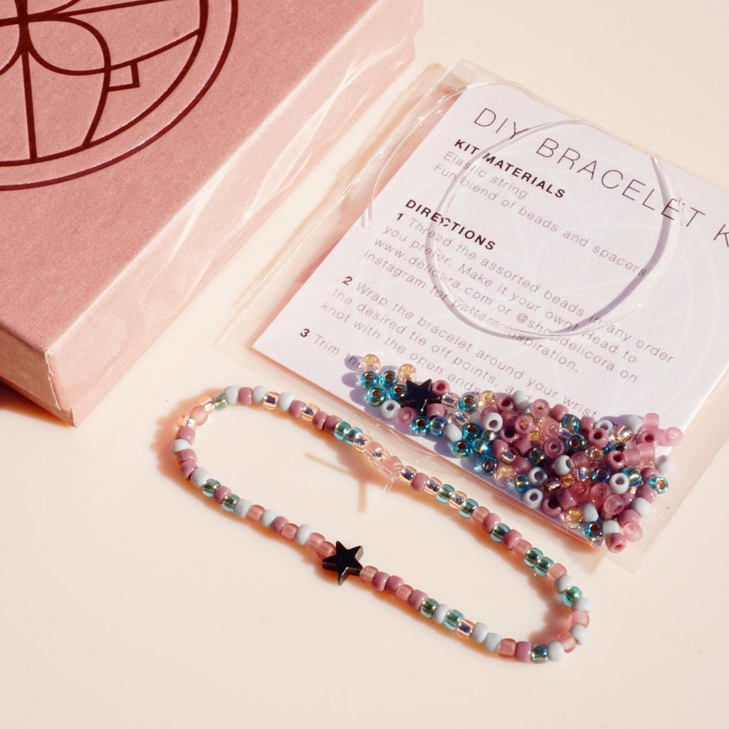 Shining Star DIY Bracelet Kit - Delicora Jewelry