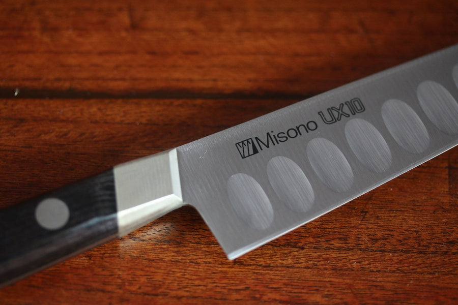 Misono UX10 Stainless Steel Petty Salmon Type Knife  (Japanese Chef's Knife)-120mm - Japanny - Best Japanese Knife