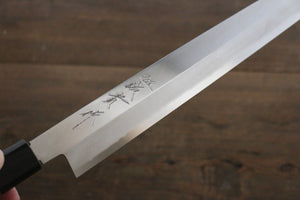 Shigeki Tanaka Silver Steel No.3 Yanagiba Japanese Chef Knife 300mm - Japanny - Best Japanese Knife