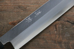 Seisuke Molybdenum Kasumitogi Yanagiba Japanese Knife - Japanny - Best Japanese Knife