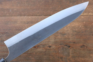 Ogata R2/SG2 Kurouchi Migaki Finished Gyuto Japanese Knife 240mm with Shitan Handle - Japanny - Best Japanese Knife