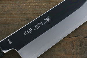 Kikumori VG10 Mirrored Finish Gyuto Japanese Chef Knife 240mm with Ebony Handle - Japanny - Best Japanese Knife