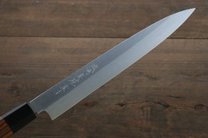 Hideo Kitaoka Blue Steel No.2 Damascus Yanagiba Japanese Chef Knife 240mm - Japanny - Best Japanese Knife