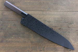 SandPattern Saya Sheath for Gyuto Chef's Knife with Plywood Pin-270mm - Japanny - Best Japanese Knife