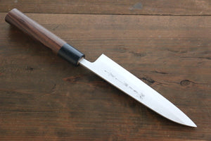 Yoshimi Kato Blue Super Clad Nashiji Petty-Utility Japanese Chef Knife 150mm - Japanny - Best Japanese Knife