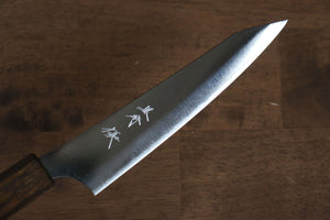 Yoshimi Kato VG10 nickel Damascus Petty-Utility Japanese Chef Knife 120mm - Japanny - Best Japanese Knife