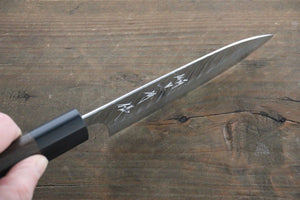 Yu Kurosaki Fujin VG10 Damascus Petty Japanese Chef Knife 120mm - Japanny - Best Japanese Knife