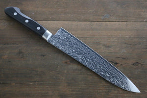 Sakai Takayuki AUS10 45 Layer Mirrored Damascus Gyuto Japanese Chef Knife 210mm - Japanny - Best Japanese Knife