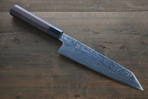 Sukenari R2/SG2 Damascus Kiritsuke Gyuto Japanese Knife 210mm Shitan Handle - Japanny - Best Japanese Knife