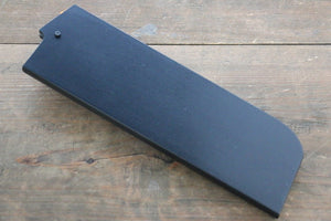 Black Saya Sheath for Nakiri Knife with Plywood Pin 180mm - Japanny - Best Japanese Knife
