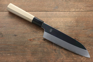 Choyo Blue Steel No.1 Mirrored Finish Santoku Japanese Knife 180mm