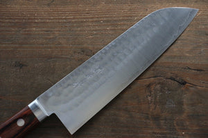 Kunihira VG1 Hammered Santoku Japanese Chef Knife 170mm - Japanny - Best Japanese Knife