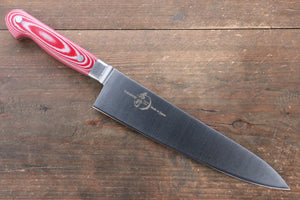 Sakai Takayuki Sakai Takayuki  Grand Chef Swedish Steel Gyuto Japanese Knife 210mm with Red Micarta Handle - Japanny - Best Japanese Knife