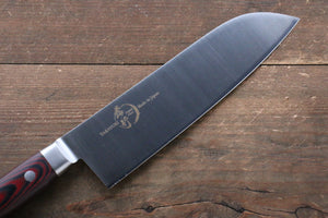 Sakai Takayuki Sakai Takayuki  Grand Chef Swedish Steel Santoku Japanese Knife 180mm with Brown Micarta Handle - Japanny - Best Japanese Knife
