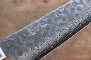 Seisuke VG10 17 Layer Damascus Japanese Chef's Gyuto Knife 180mm - Japanny - Best Japanese Knife