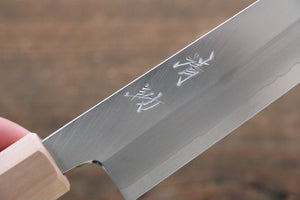 Seisuke Silver Steel No.3 Kiritsuke Petty-Utility Japanese Knife 150mm with Cherry Blossoms Handle - Japanny - Best Japanese Knife