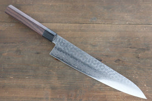 Sakai Takayuki 45 Layer Damascus Japanese Chef's Gyuto Knife 240mm with Shitan Handle - Japanny - Best Japanese Knife