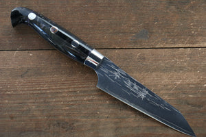 Yu Kurosaki Juhyo SPG2 Hammered Petty-Utility Japanese Knife 100mm with Acrylic Handle - Japanny - Best Japanese Knife