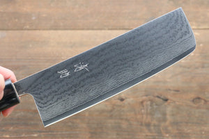 Seisuke VG10 63 Layer Damascus Usuba Japanese Knife 165mm with Cherry Blossoms Handle - Japanny - Best Japanese Knife