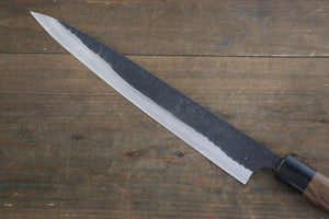 Katsushige Anryu 3 Layer Cladding Blue Super Core Hammerd Japanese Chef's Sujihiki Knife 270mm - Japanny - Best Japanese Knife