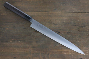 Sukenari HAP40 3 Layer Sujihiki Japanese Knife 270mm Shitan Handle - Japanny - Best Japanese Knife
